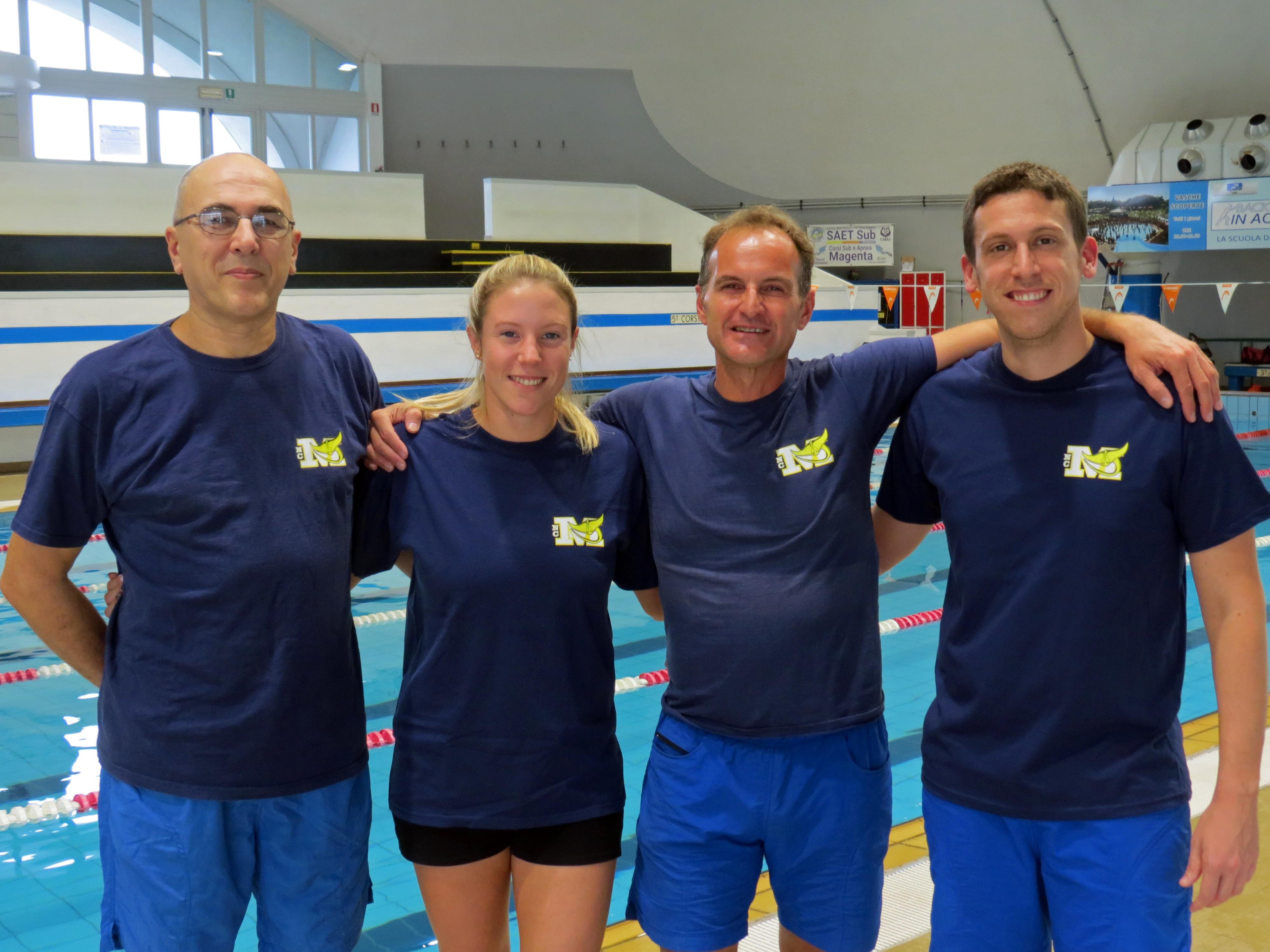 Istruttori Nuoto Club Magenta